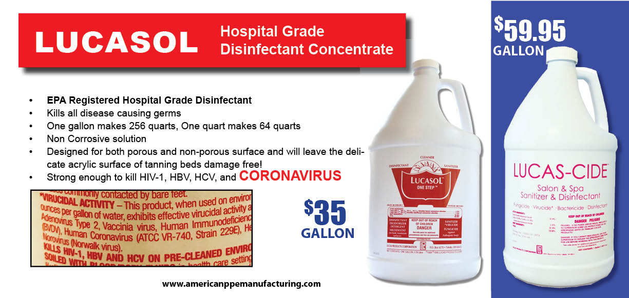 Lucasol disinfectants